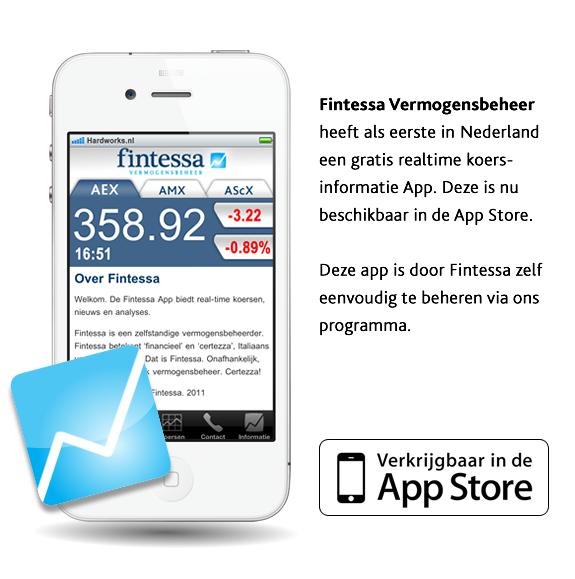 App Ontwikkelt voor Fintessa: Klik hier!